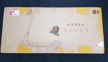 Xiaomi M365 Unboxing 1