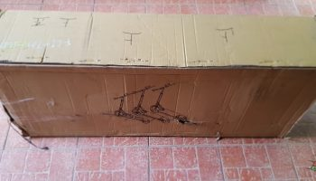 FLJ T113 11inch electric scooter unboxing 1