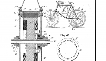 Electrical bicycle patent 1