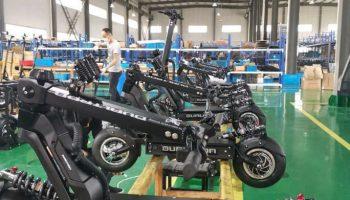 Dualtron X Factory line
