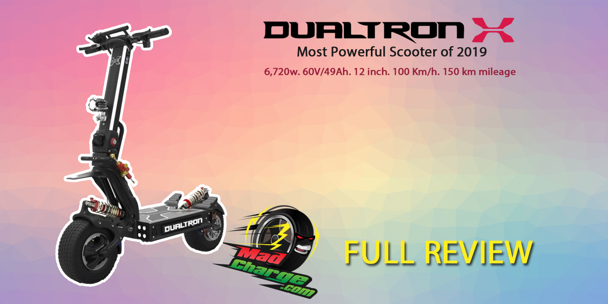 Dualtron X Review - the New Most Powerful Scooter of 2019