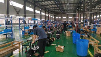 Dualtron X assembling factory