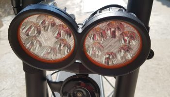 Kaabo Wolf Warrior II Front Lights