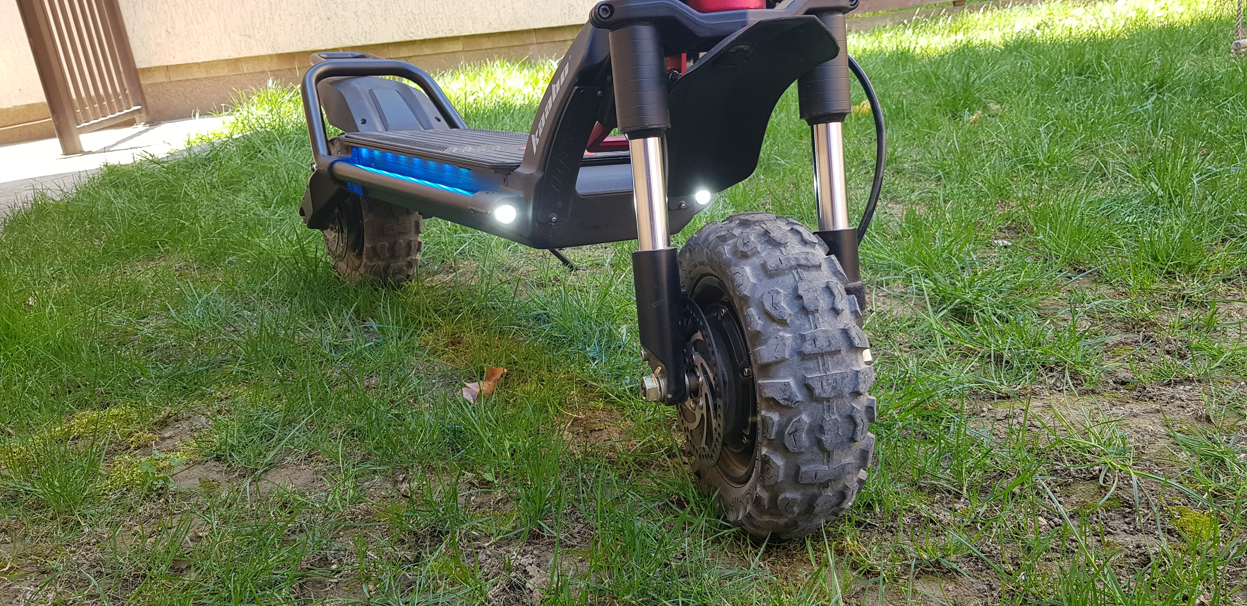 Kaabo Wolf Warrior II Review - New High-End Off-Road Scooter