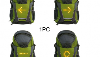 Backpack Turn Signal for Electric Scooter