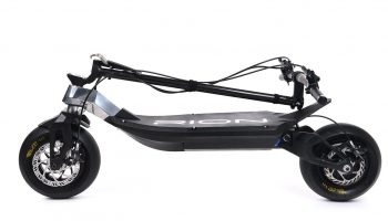 Rion Electric Scooter Folded
