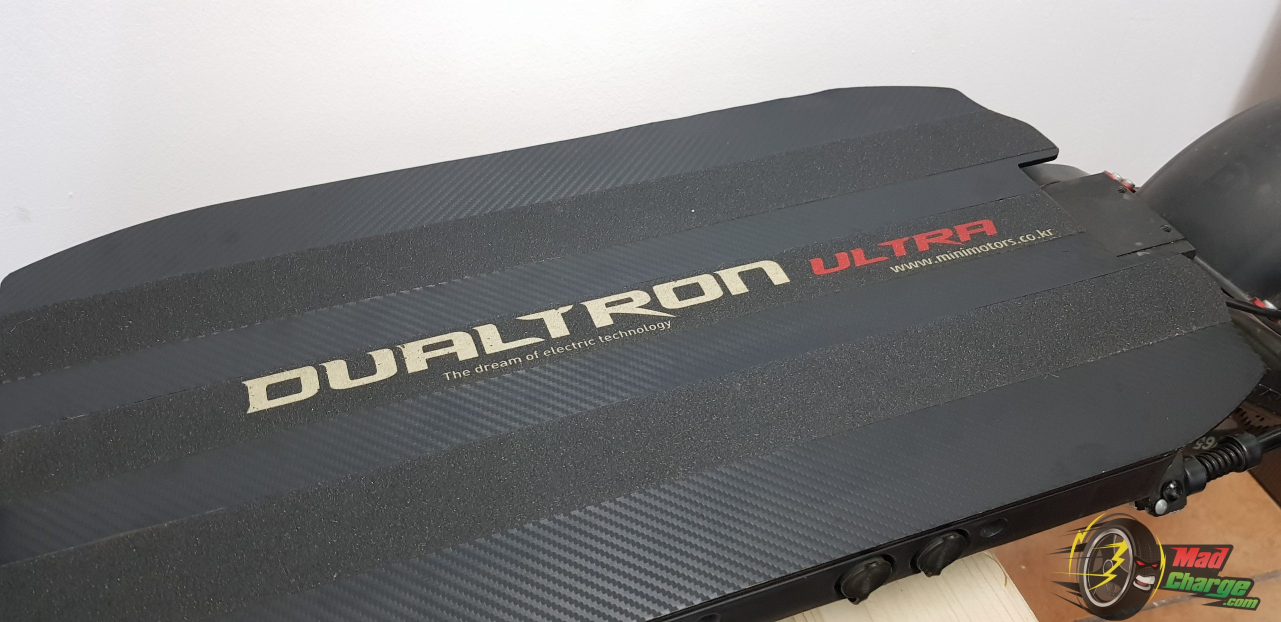 dualtron ultra carbon deck stickers