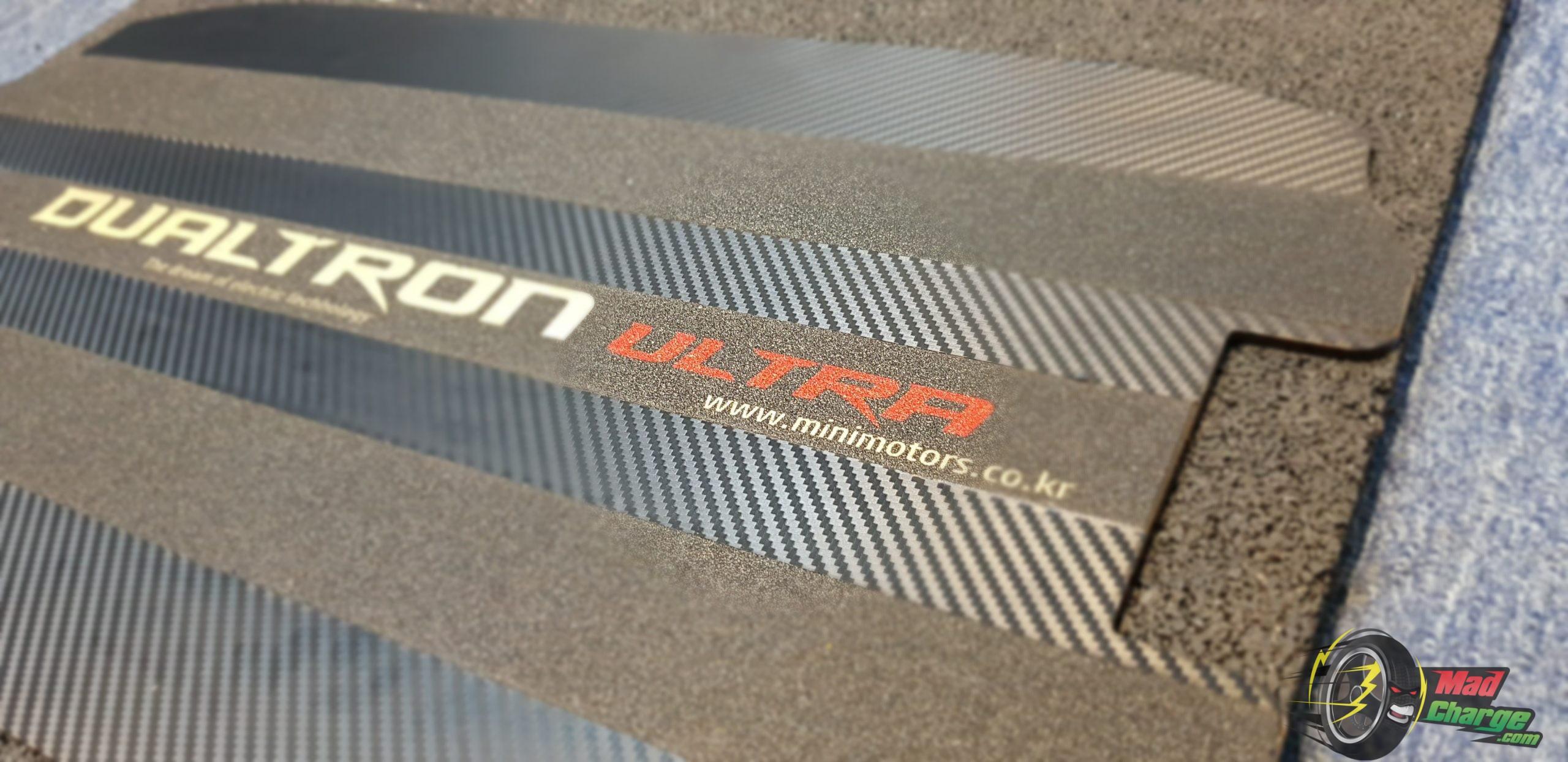 dualtron ultra deck stickers carbon