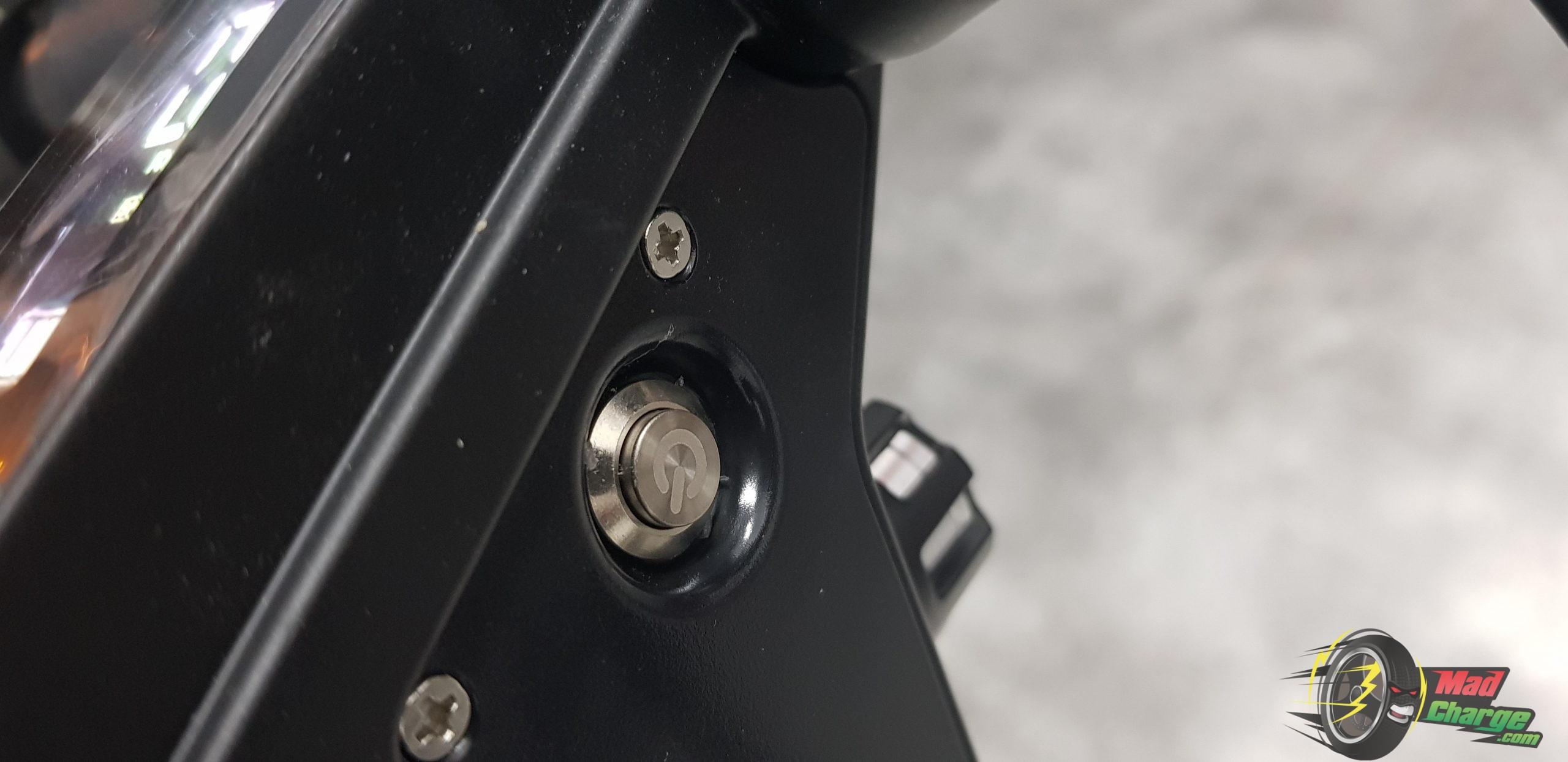 Kugoo M2 PRO Power Button