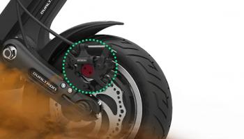 dualtron 3 brakes