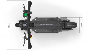 dualtron 3 deck size