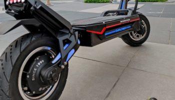 dualtron storm footrest rear